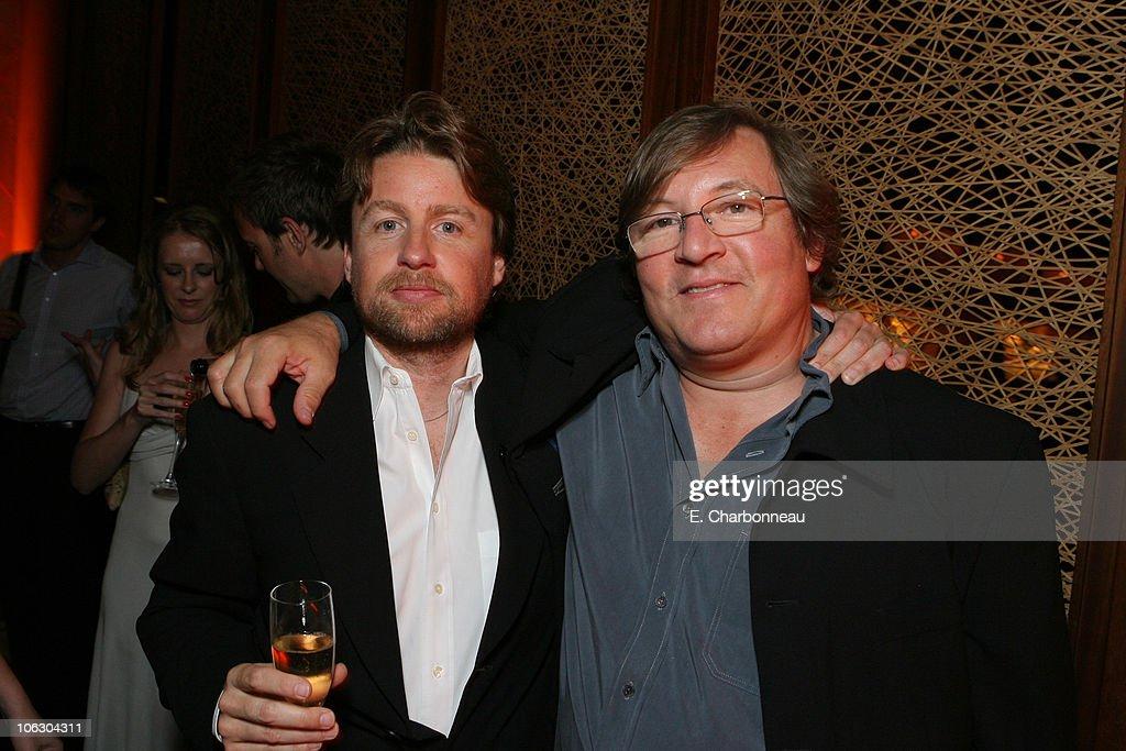 Director Mikael Hafstrom and Producer Lorenzo di Bonaventura