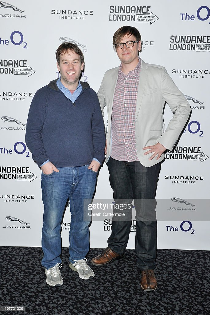 Director Mike Birbiglia and producer Jacob Jaffke attend the 'Sleepwalk With Me' screening during the Sundance London Film And Music Festival 2013 at Sky Superscreen O2 on April 28, 2013 in London, England.