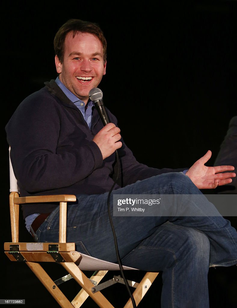 Director <a gi-track='captionPersonalityLinkClicked' href=/galleries/search?phrase=Mike+Birbiglia&family=editorial&specificpeople=4111852 ng-click='$event.stopPropagation()'>Mike Birbiglia</a> speaks at the 'Sleepwalk With Me' screening during the Sundance London Film And Music Festival 2013 at Sky Superscreen O2 on April 28, 2013 in London, England.