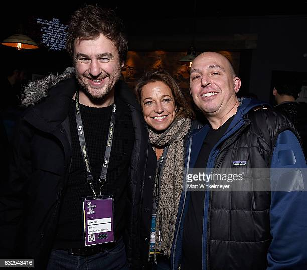 Director Mike Day RO*CO Films Managing Director Susan Turley and producer Daniel Chalfen attend the Film Independent International Documentary...