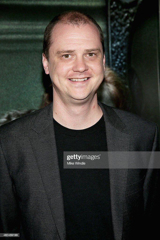 Director Mike Flanagan arrives at the screening of Relativity Media's 'Oculus' at TCL Chinese 6 Theatres on April 3 2014 in Hollywood California