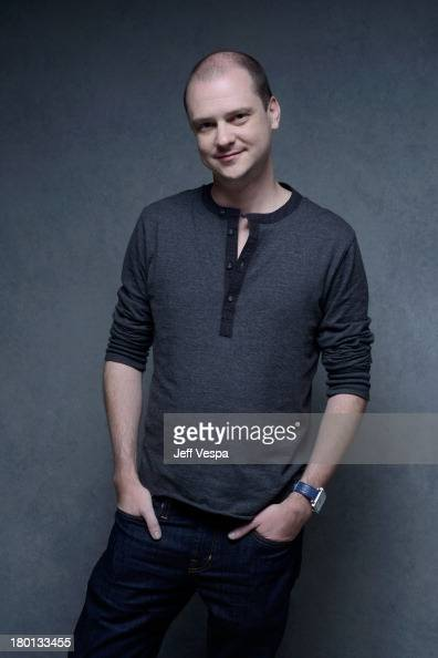 Director Mike Flanagan of 'Oculus' poses at the Guess Portrait Studio during 2013 Toronto International Film Festival on September 9 2013 in Toronto...