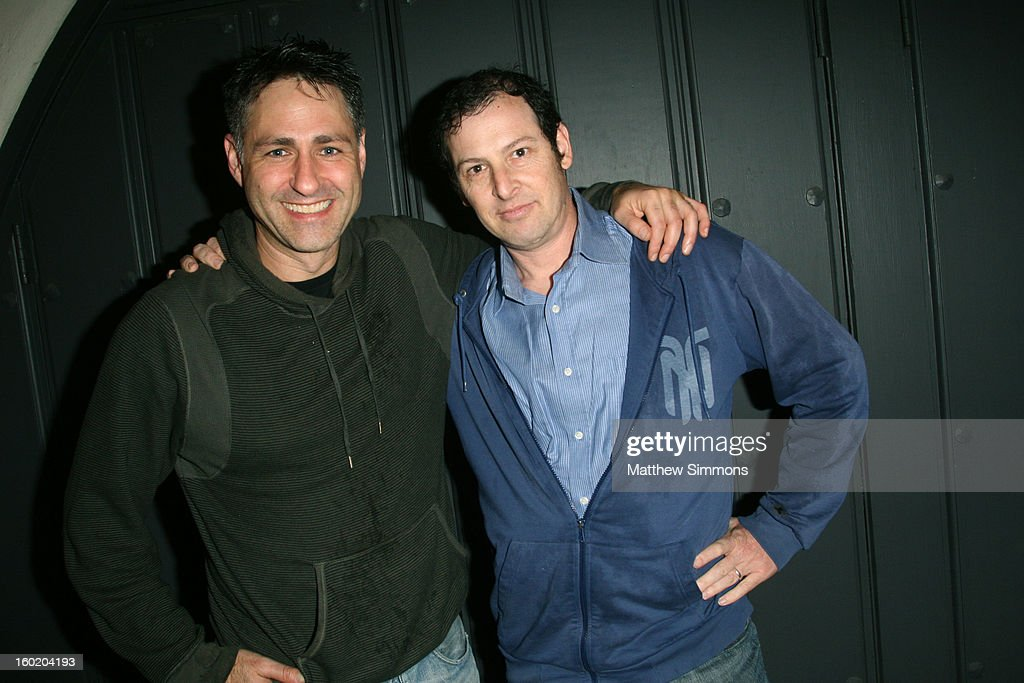 Director Mike Horelick and Jon Carnoy attend the premiere of 'The Signal Hill Speed Run' at the Lobero Theatre during the 28th Santa Barbara International Film Festival on January 25, 2013 in Santa Barbara, California.