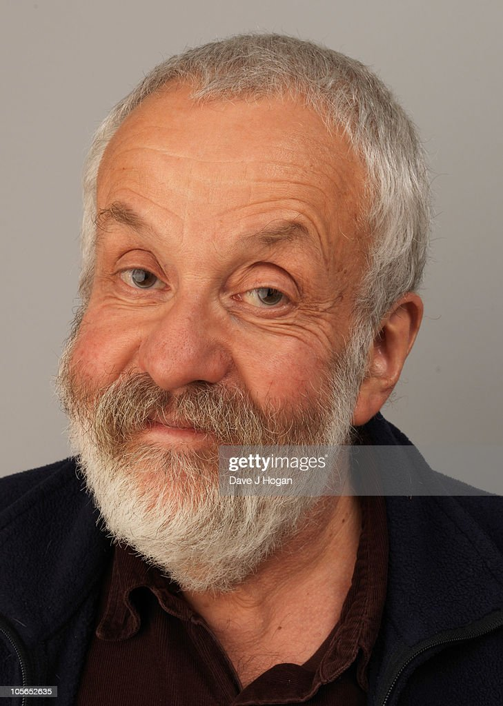 Director Mike Leigh from Another Year poses for a portrait during The 54th BFI London Film Festival held at The Vue Leicester Square on October 18, 2010 in London, England.