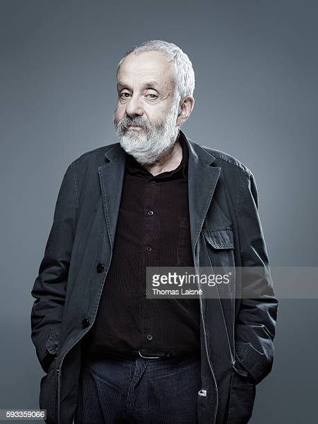 Director Mike Leigh is photographed for Self Assignment on November 15 2010 in Paris France