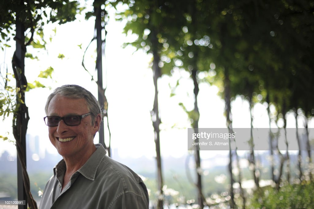 Director Mike Nichols is photographed for the Los Angeles Times. PUBLISHED
