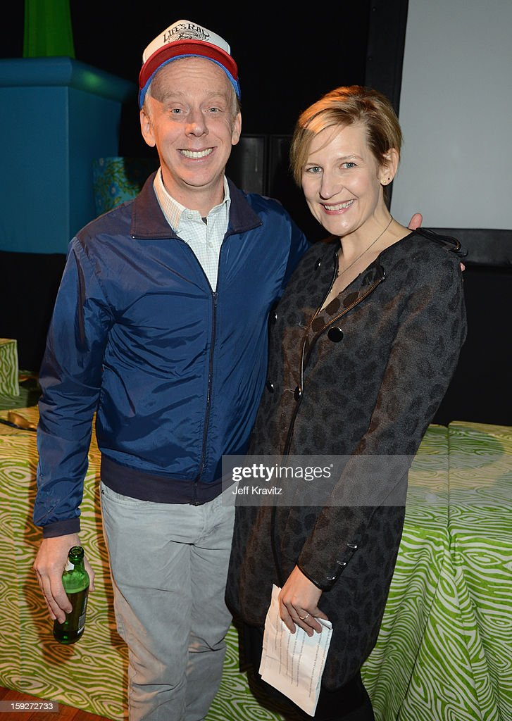 Director <a gi-track='captionPersonalityLinkClicked' href=/galleries/search?phrase=Mike+White+-+Screenwriter&family=editorial&specificpeople=4604186 ng-click='$event.stopPropagation()'>Mike White</a> and President of Time Warner's HBO Entertainment Sue Naegle attend the 'Enlightened' Season 2 Premiere presented by HBO at Avalon on January 10, 2013 in Hollywood, California.