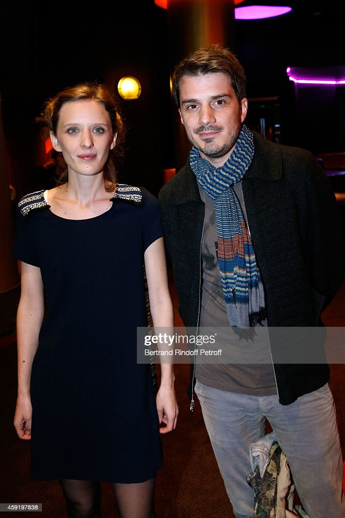 Director Milla Hansel-Love and her brother Scenarist Sven Hansel-Love attend the 'Eden' Paris Premiere at Cinema Gaumont Marignan on November 18, 2014 in Paris, France.