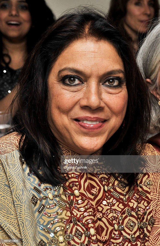 Director Mira Nair attend the after party following 'The Reluctant Fundamentalist' screening during the 2013 New York Indian Film Festival at Yuva on April 24, 2013 in New York City.