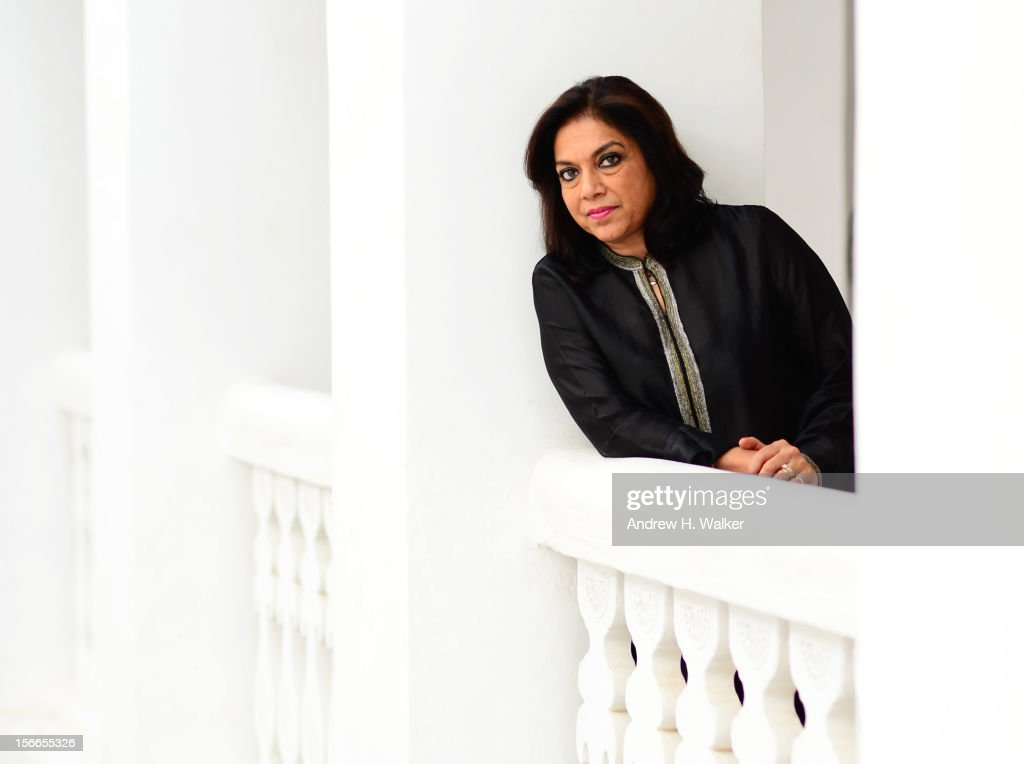 Director Mira Nair of 'The Reluctant Fundamentalist' poses for a portrait during the 2012 Doha Tribeca Film Festival at AL Najada Hotel on November...