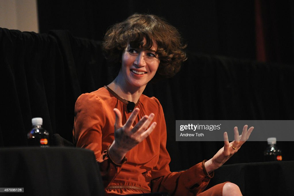 Director Miranda July attends The Golden State Michael Chabon Ryan Coogler Miranda July and Robert Towne Moderated by Deborah Teismanon during The...