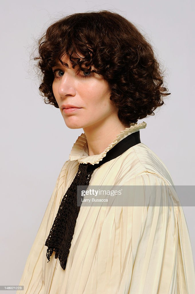 Director Miranda July poses for a portrait during the 2011 Sundance Film Festival at The Samsung Galaxy Tab Lift on January 21 2011 in Park City Utah