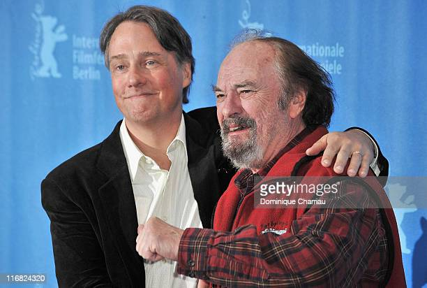 Director Mitchell Lichtenstein and Actor Rip Torn attend the 'Happy Tears' photocall during the 59th Berlin International Film Festival at the Grand...
