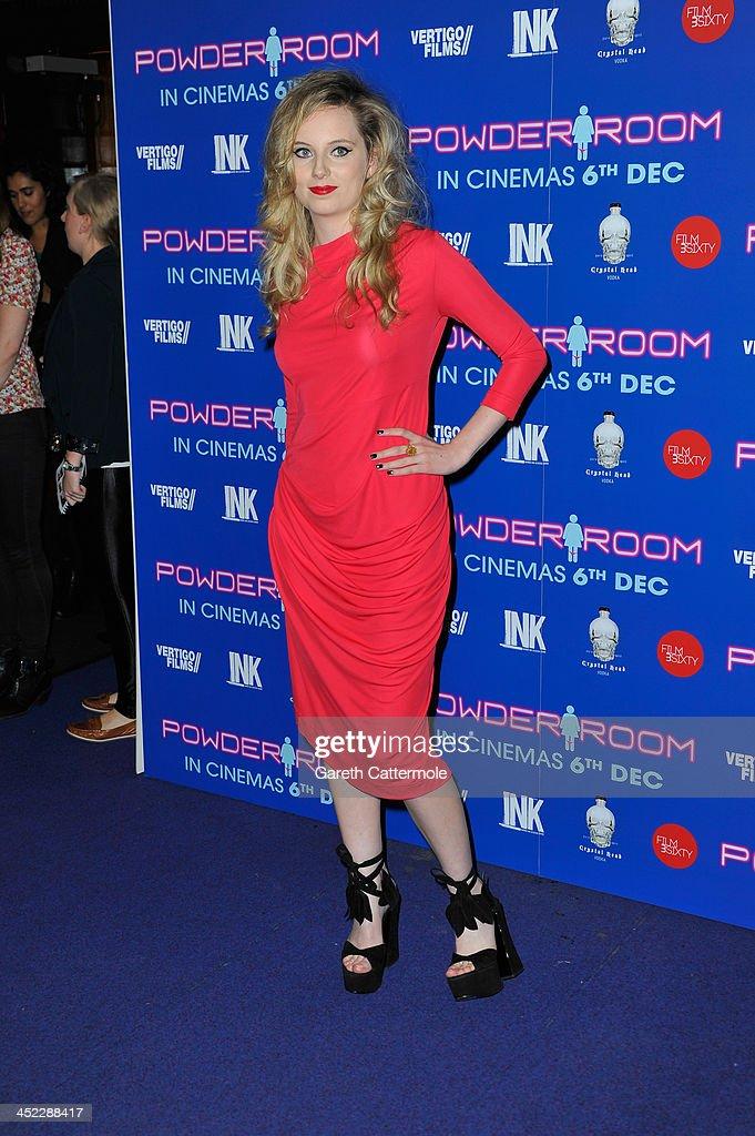 Director MJ Delaney attends the UK Premiere of 'Powder Room' at Cineworld Haymarket on November 27, 2013 in London, England.