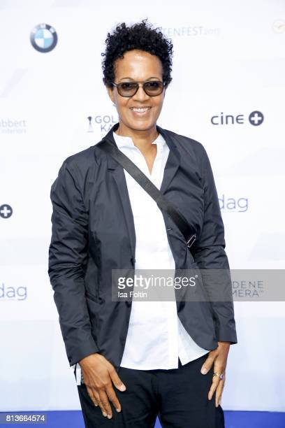 Director Mo Asumang attends the summer party 2017 of the German Producers Alliance on July 12 2017 in Berlin Germany