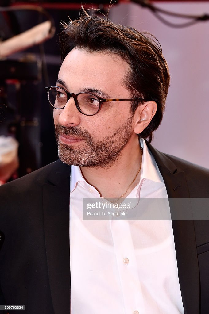 Director <a gi-track='captionPersonalityLinkClicked' href=/galleries/search - director-mohamed-ben-attia-attends-the-inhebbek-hedi-premiere-during-picture-id509763334