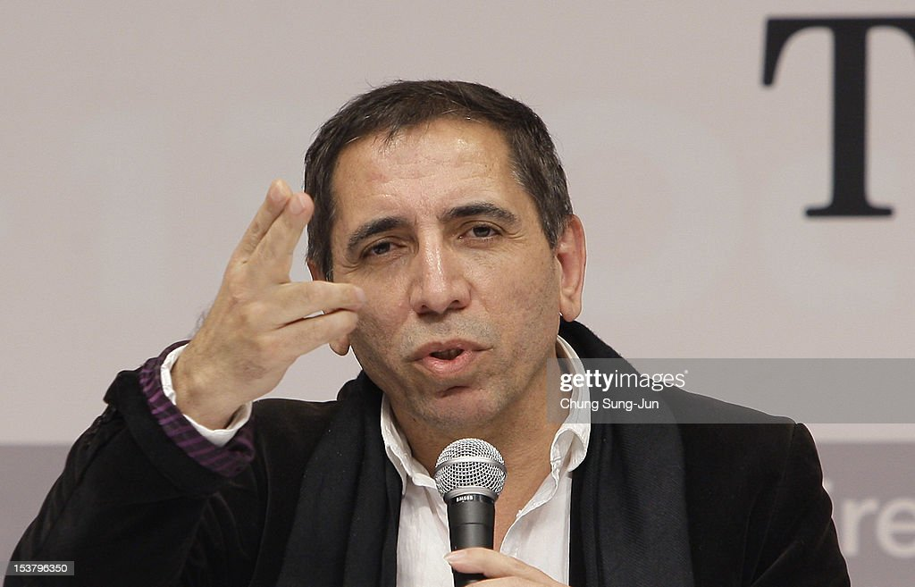 Director Mohsen Makhmalbaf attends the 'Gardener' gala presentation and press conference at the Shinsegae Centumcity cultural hall during the 17th Busan International Film Festival (BIFF) at the Busan Cinema Center on October 8, 2012 in Busan, South Korea. The biggest film festival in Asia showcases 304 films from 75 countries and runs from October 04 until October 13..