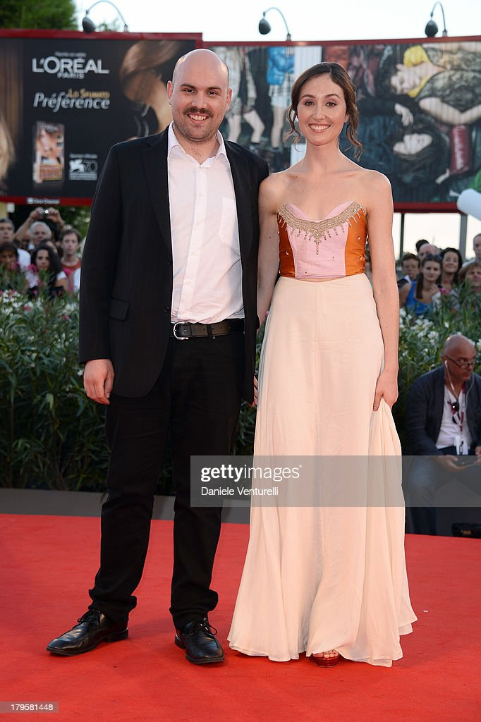 Director Moises Sepulveda and actress Valentina Muhr attend 'La Jalousie' Premiere during the 70th Venice International Film Festival at the Sala Grande on September 5, 2013 in Venice, Italy.
