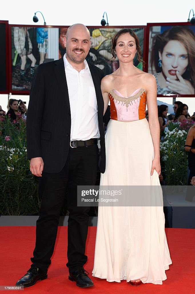 Director Moises Sepulveda and actress Valentina Muhr attends the 'Jealousy' Premiere during the 70th Venice International Film Festival at the Palazzo del Cinema on September 5, 2013 in Venice, Italy.