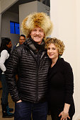 Director Morgan Spurlock and HBO Documentary Films VP Sara Bernstein attend HBO Documentary Film 'Mapplethorpe Look At The Pictures' gallery...