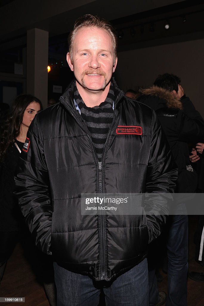 Director Morgan Spurlock attends the Grey Goose Blue Door 'Lovelace' Party on January 22, 2013 in Park City, Utah.