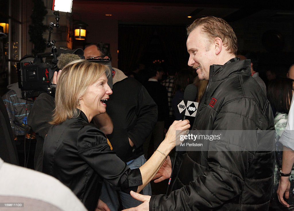 Director Morgan Spurlock attends the HBO Documentary Films Sundance Party on January 20, 2013 in Park City, Utah.