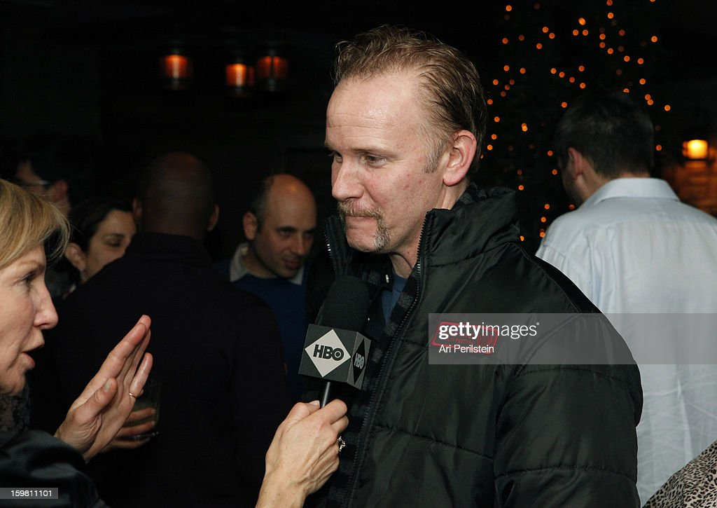 Director <a gi-track='captionPersonalityLinkClicked' href=/galleries/search?phrase=Morgan+Spurlock&family=editorial&specificpeople=212719 ng-click='$event.stopPropagation()'>Morgan Spurlock</a> attends the HBO Documentary Films Sundance Party on January 20, 2013 in Park City, Utah.