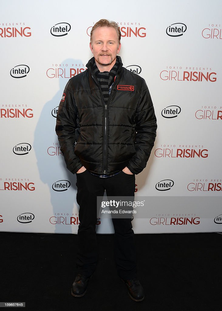 Director Morgan Spurlock attends the Intel Event at The Shop during the 2013 Sundance Film Festival on January 21, 2013 in Park City, Utah.