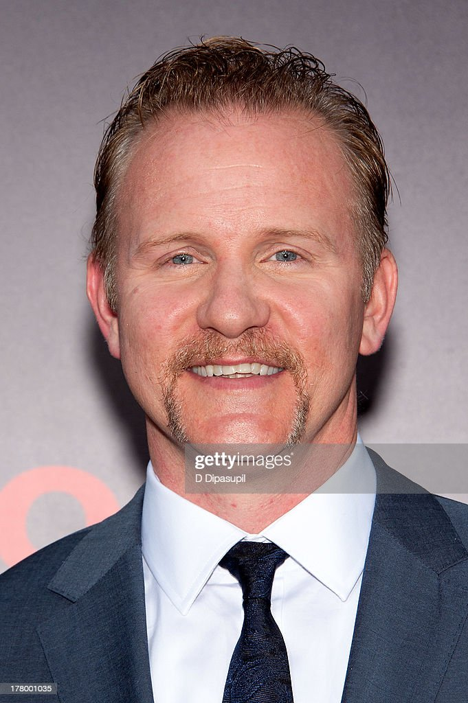 Director Morgan Spurlock attends the New York premiere of 'One Direction This Is Us' at the Ziegfeld Theater on August 26 2013 in New York City