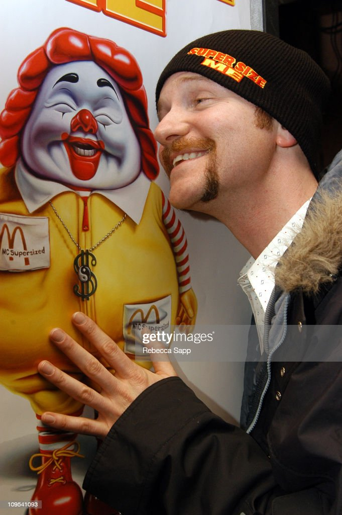 Director Morgan Spurlock during 2004 Sundance Film Festival Documentary Competetion 'Supersize Me' Premiere at HVC III in Park City Utah United States