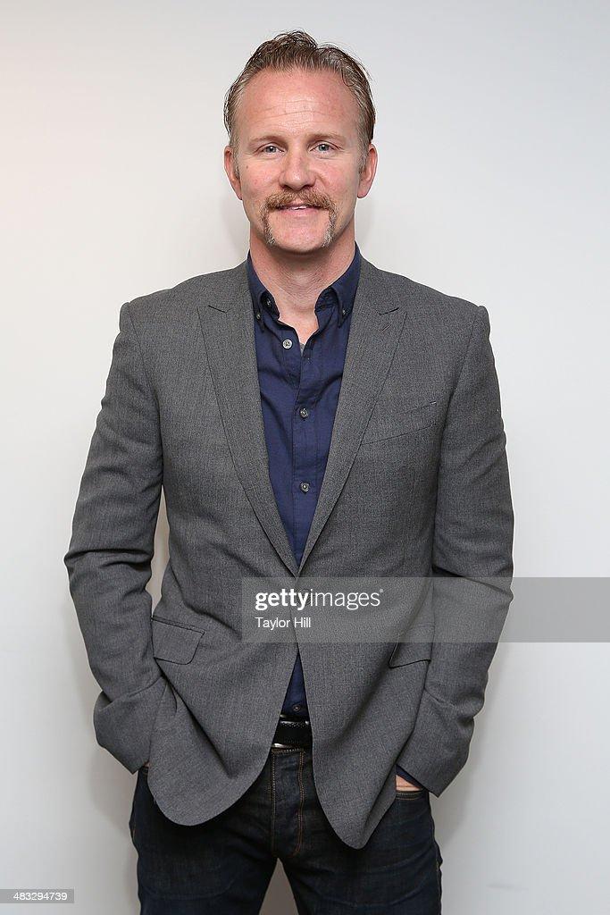 Director Morgan Spurlock visits the SiriusXM Studios on April 7 2014 in New York City