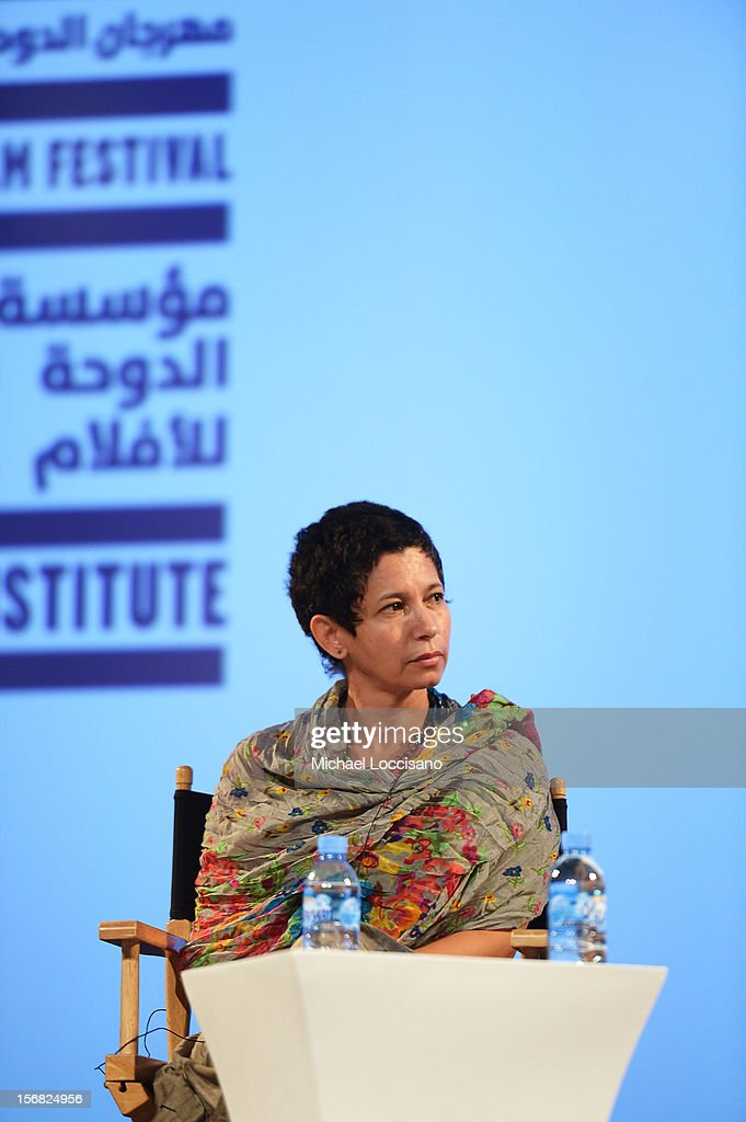 Director Nadia Rais attends the Emerging Cinema of Change Hosted by Northwestern University In Qatar at the Katara Opera House during 2012 Doha Tribeca Film Festival on November 22, 2012 in Doha, Qatar.