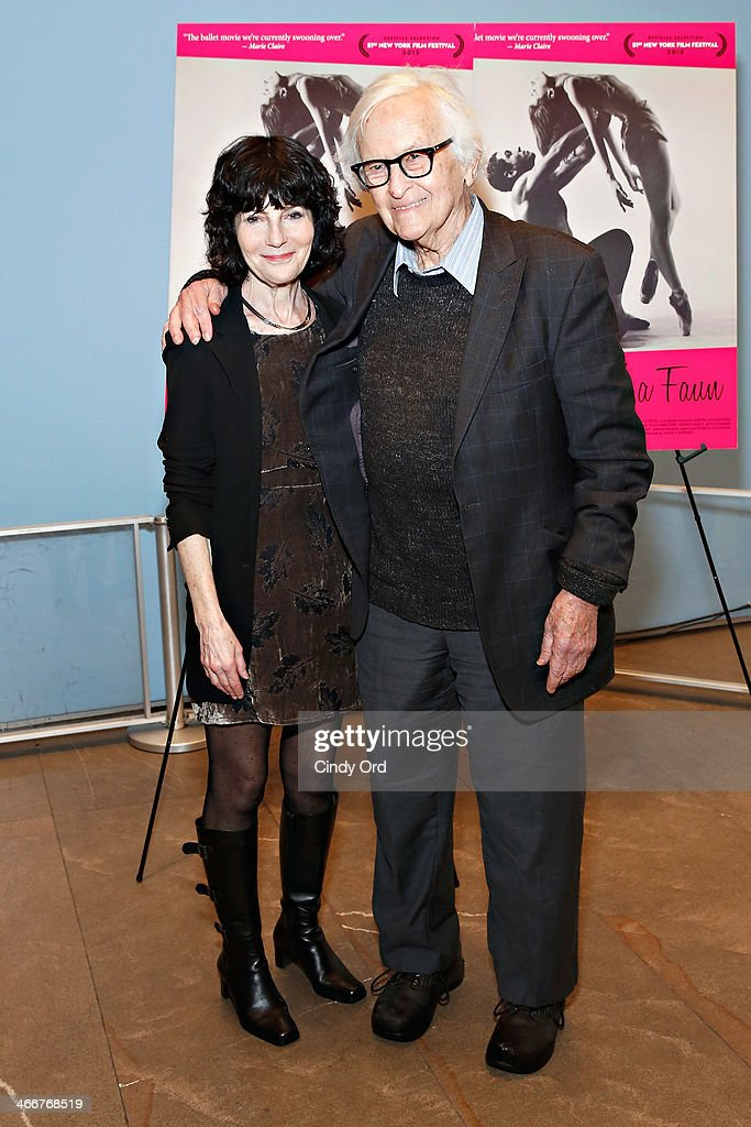 Director Nancy Buirski and filmmaker Albert Maysles attend 'Afternoon Of A Faun' screening on February 3, 2014 in New York City.