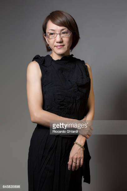 Director Naoko Ogigami is photographed for Self Assignment on February 11 2017 in Berlin Germany