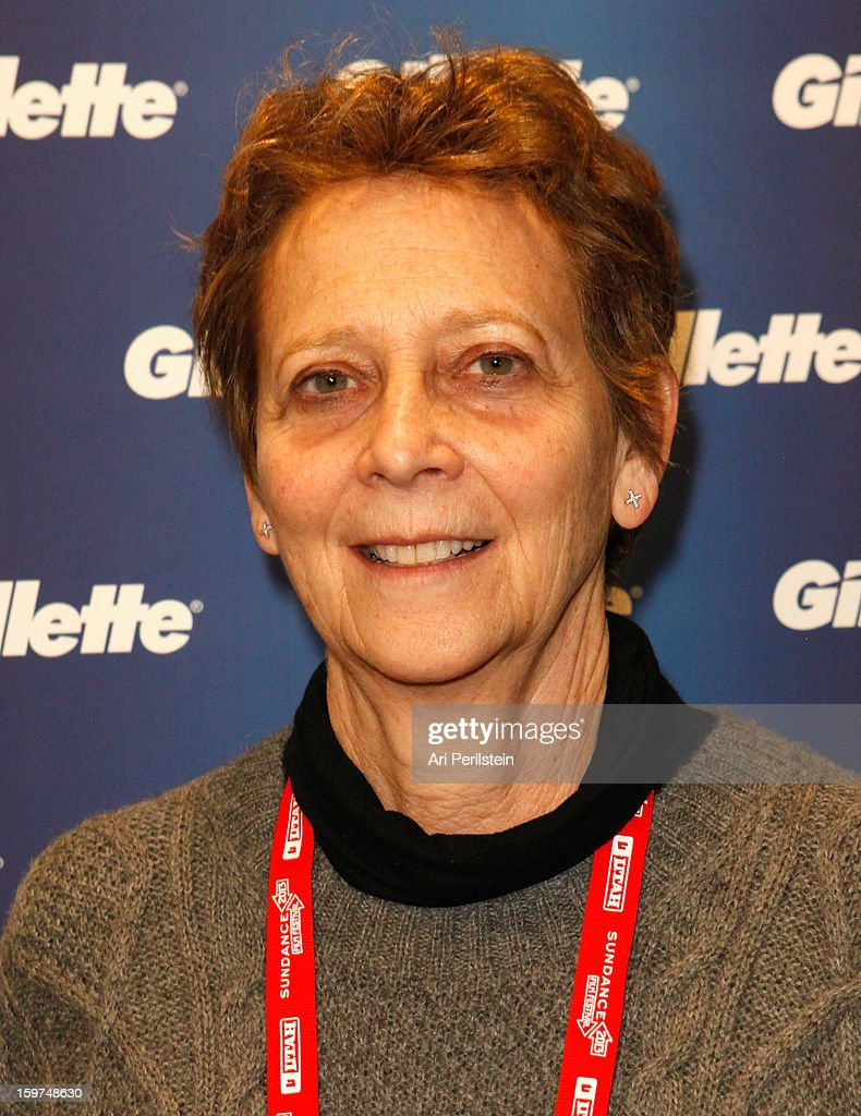 Director Naomi Foner attends Gillette Ask Couples at Sundance to 'Kiss & Tell' if They Prefer Stubble or Smooth Shaven - Day 2 on January 19, 2013 in Park City, Utah.