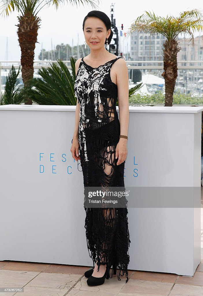 Director <a gi-track='captionPersonalityLinkClicked' href=/galleries/search?phrase=Naomi+Kawase&family=editorial&specificpeople=3267953 ng-click='$event.stopPropagation()'>Naomi Kawase</a> attends a photocall for 'An' during the 68th annual Cannes Film Festival on May 14, 2015 in Cannes, France.
