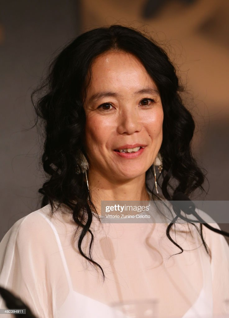 Director <a gi-track='captionPersonalityLinkClicked' href=/galleries/search?phrase=Naomi+Kawase&family=editorial&specificpeople=3267953 ng-click='$event.stopPropagation()'>Naomi Kawase</a> attends the 'Futatsume No Mado' press conference during the 67th Annual Cannes Film Festival on May 20, 2014 in Cannes, France.