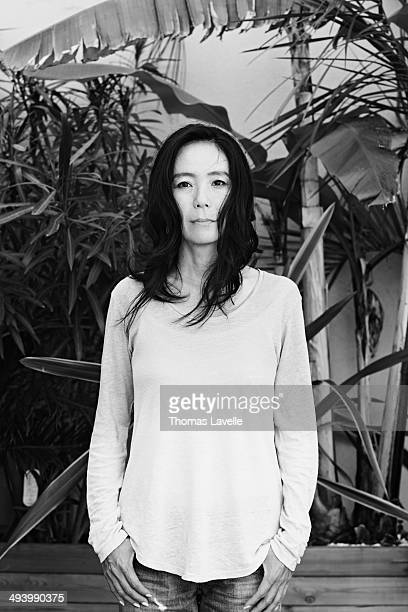 Director Naomi Kawase is photographed for Self Assignment on May 21 2014 in Cannes France
