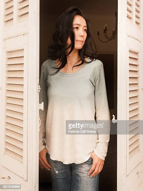 Director Naomi Kawase is photographed for Vanity Fair Italy on May 15 2014 in Cannes France