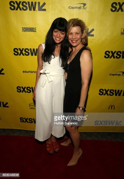 Director Natalia Leite and actor Mary Price Moore attend the premiere of 'MFA' during 2017 SXSW Conference and Festivals at Stateside Theater on...