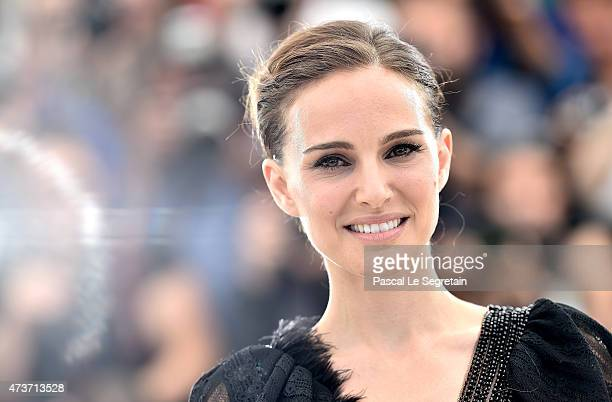 Director Natalie Portman attends the 'A Tale Of Love And Darkness' Photocall during the 68th annual Cannes Film Festival on May 17 2015 in Cannes...