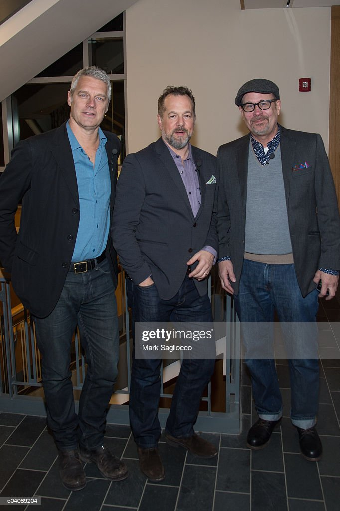 Director Neil Burger Actor David Costabile and Actor Terry Kinney attend Showtime's 'Billions' Greenwich International Film Festival Special...