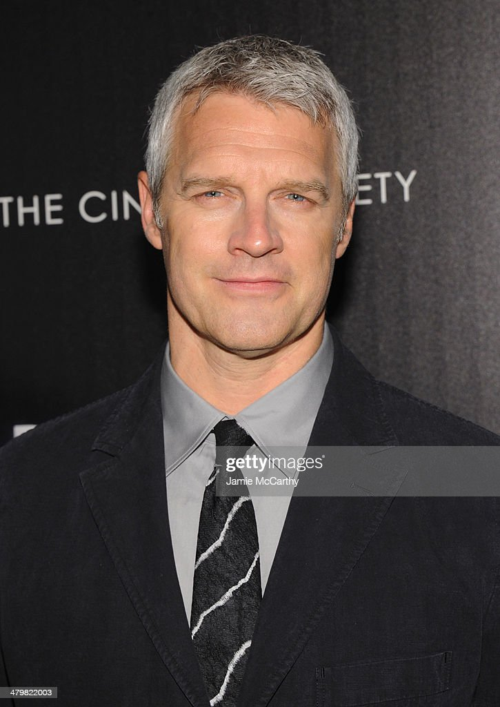 Director Neil Burger attends the Marie Claire The Cinema Society screening of Summit Entertainment's 'Divergent' at Hearst Tower on March 20 2014 in...
