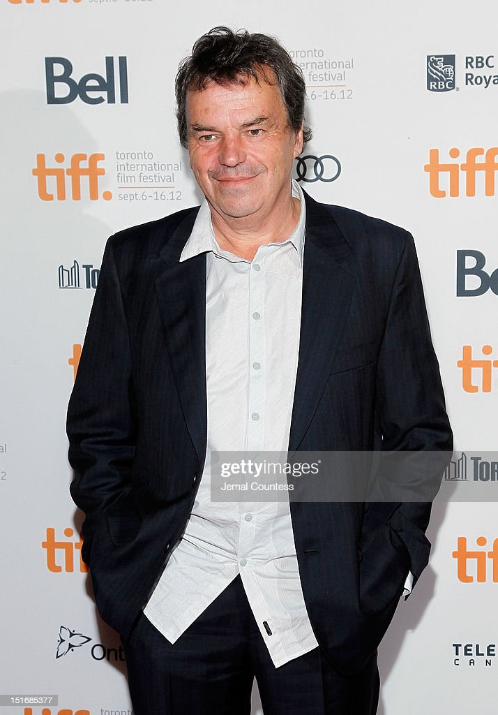 Director <a gi-track='captionPersonalityLinkClicked' href=/galleries/search?phrase=Neil+Jordan&family=editorial&specificpeople=224046 ng-click='$event.stopPropagation()'>Neil Jordan</a> attends the 'Byzantium' premiere during the 2012 Toronto International Film Festival at Ryerson Theatre on September 9, 2012 in Toronto, Canada.