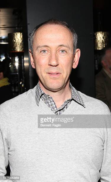 Director Nicholas Hytner attends 'One Man Two Guvnors' Broadway Play Champagne Toast at Paramount Hotel on April 6 2012 in New York City