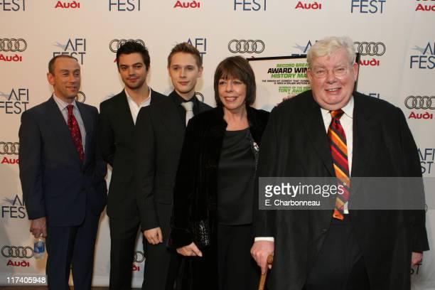 Director Nicholas Hytner Dominic Cooper Samuel Barnett Francis de la Tour and Richard Griffiths