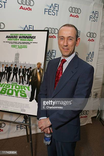 Director Nicholas Hytner during Fox Searchlight Pictures Premiere of 'The History Boys' at the AFI Fest 2006 at Archlight in Los Angeles California...