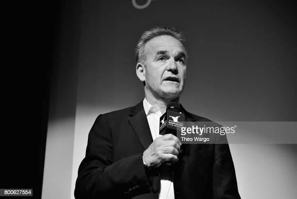 Director Nick Broomfield attends the 'Whitney Can I Be Me' QA during the 2017 Nantucket Film Festival Day 4 on June 24 2017 in Nantucket Massachusetts