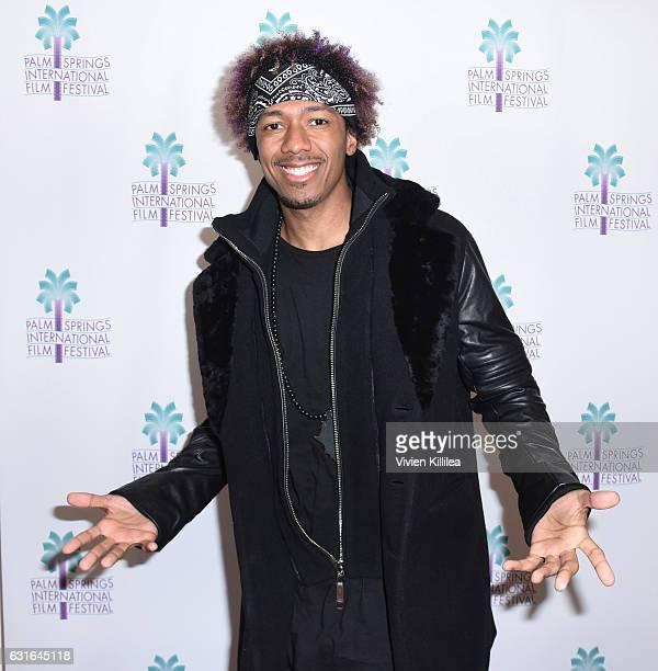 Director Nick Cannon attends a screening of 'King Of The Dancehall' at the 28th Annual Palm Springs International Film Festival Film on January 13...