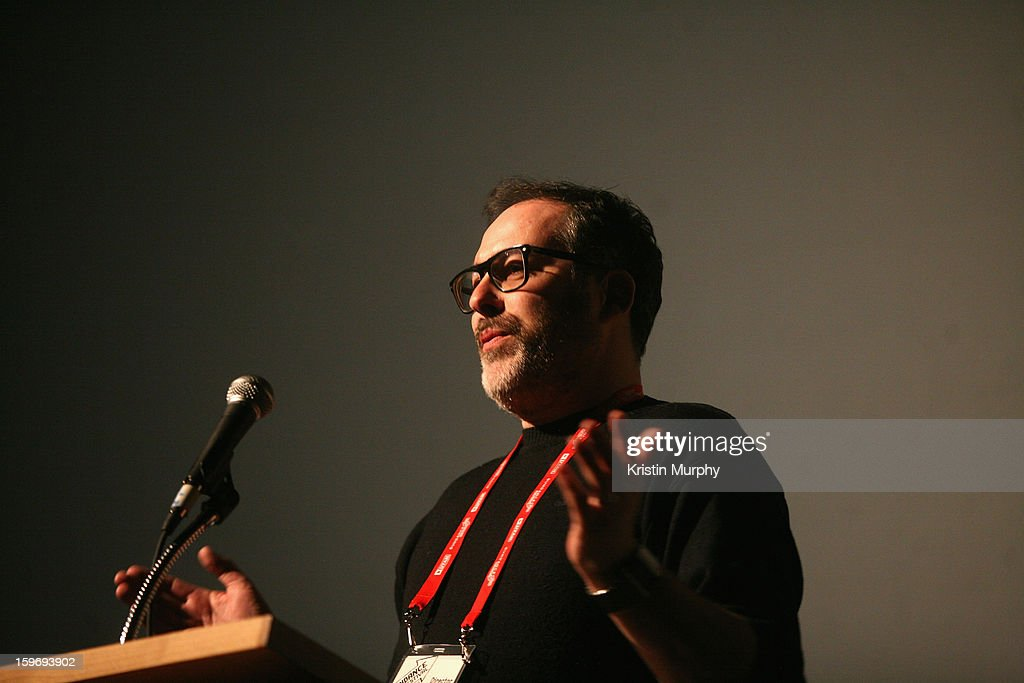 Director Nick Ryan speaks during 'The Summit' Premiere at Egyptian Theatre during the 2013 Sundance Film Festival on January 18, 2013 in Park City, Utah.